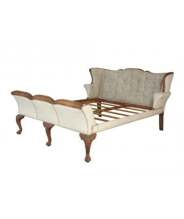 Height: 46 in / 116.84 cm  Width: 76 in / 193.04 cm  Depth: 94 in / 238.76 cm  Weight: 211.64 lbs / 96   Washington Sleigh Bed