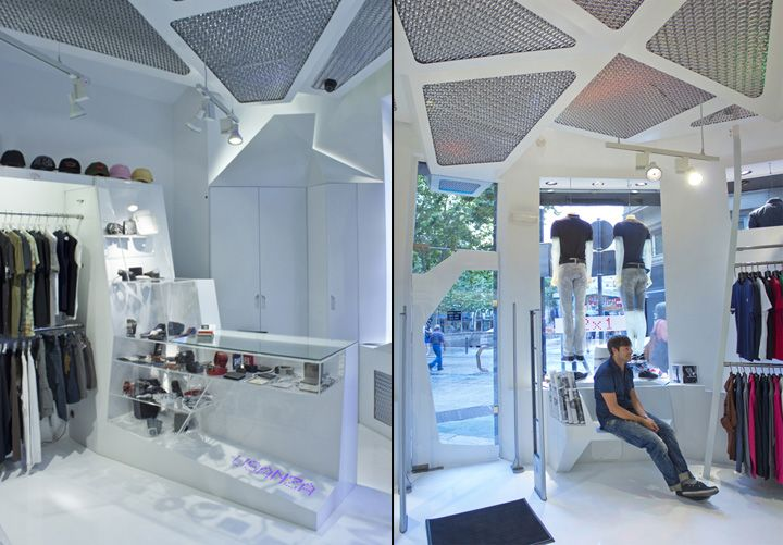 Usanza store by NoNoN Arkitektura, Vitoria-Gasteiz – Spain