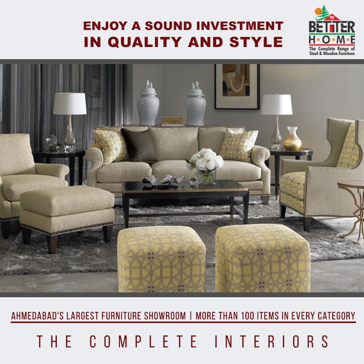 Enjoy A Sound Investment In Quality Style Ahmedabad 39 S Largest Furniture Showroom Better