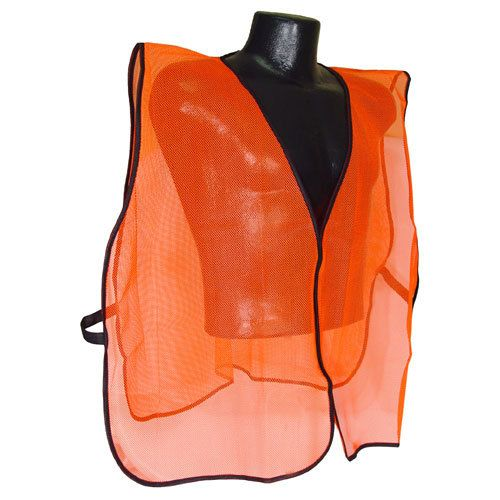 Radians Hi Vis Orange Vest NON Rated SVO | Hi Visibility Radians Hi Vis Orange Vest NON Rated SVO