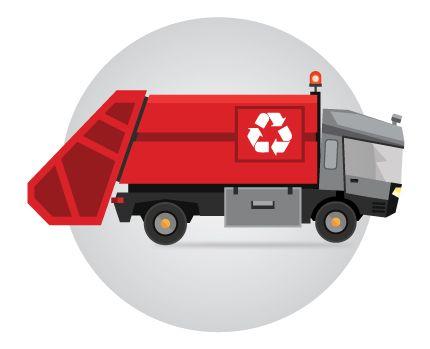 Контроль мусоровозов