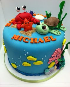 Under the Sea Cake toppers