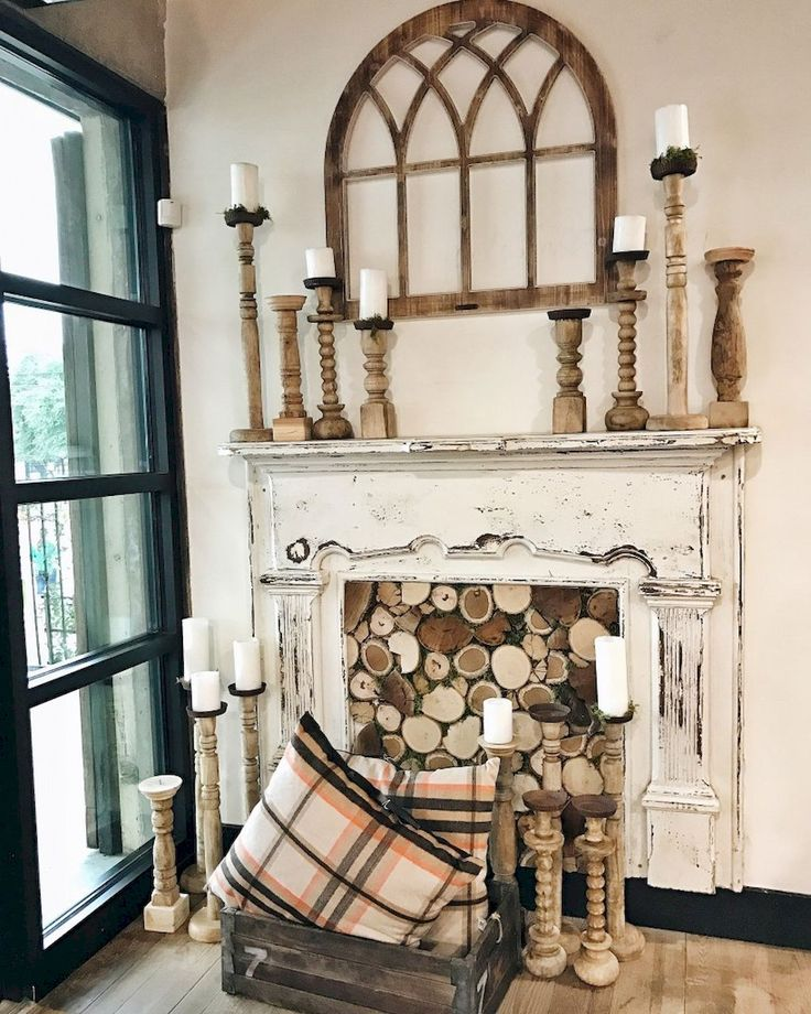 Awesome 60 Awesome Fireplace Ideas Makeover https://roomadness.com/2017/09/14/60-beautiful-eclectic-fireplace-decor/