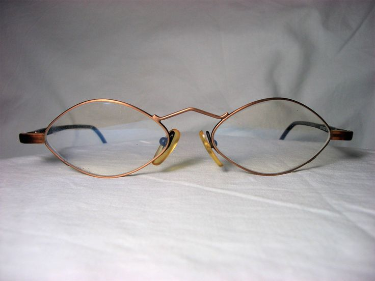 Unique! Steel and Light Germany, diamond, square, eyeglasses frames, men's, women's, vintage by FineFrameZ on Etsy