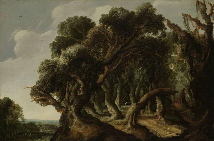 Boslandschap, Jacob Jacobsz van Geel, ca. 1633