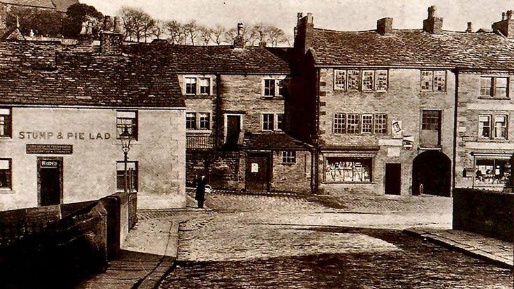 Bottom of Kiln Lane/Lily Street, Stump & Pie Lad, (great name).