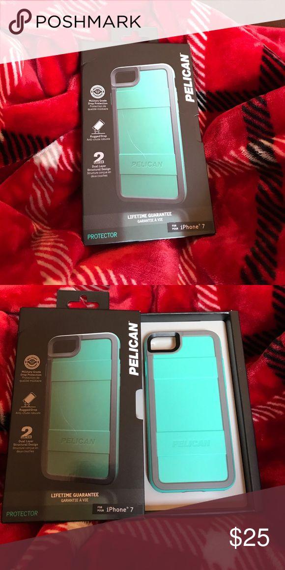 iPhone 7 pelican case Pelican protector case aqua and gray pelican Other