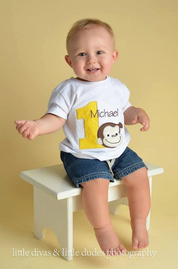 Hey, I found this really awesome Etsy listing at https://www.etsy.com/listing/181111195/curious-george-birthday-shirt