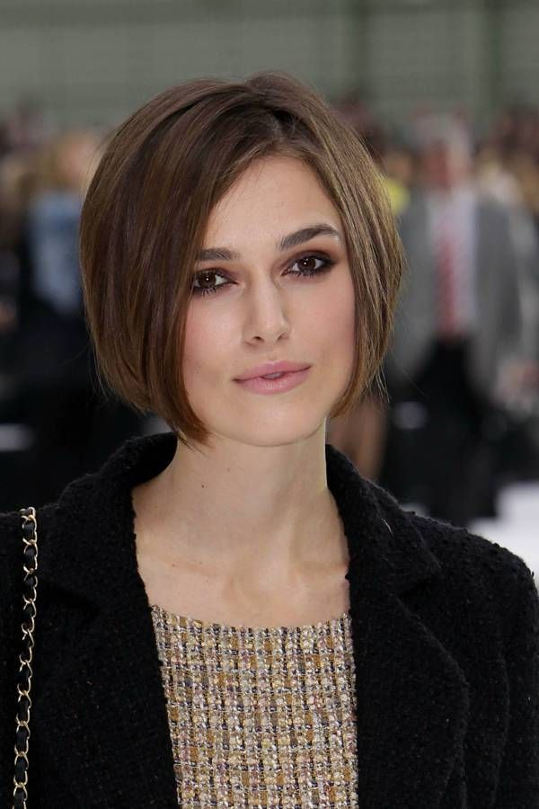 Keira Knightley Asymmetrical Haircuts For Round Faces Cute Medium