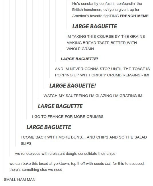 As a baking lover and hamilton lover this made me laugh far more than anyone probably should