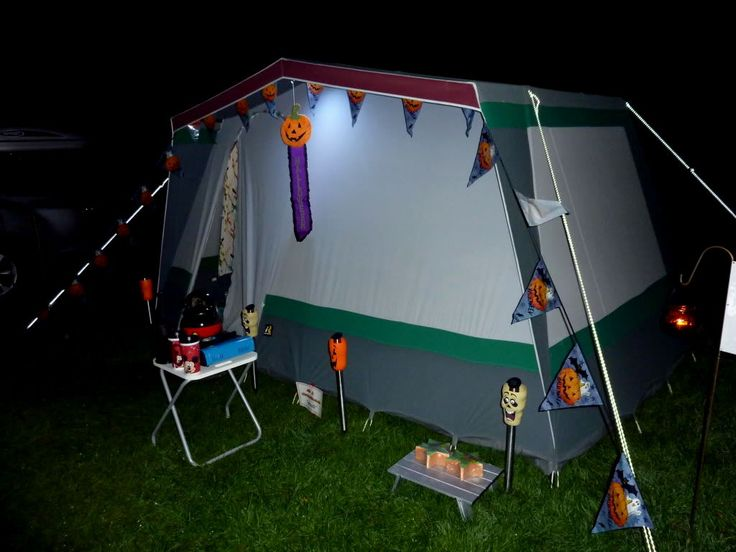 halloween camping decorating ideas
