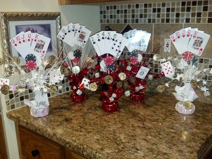 casino centerpiece ideas yahoo image search results - Casino Decorations
