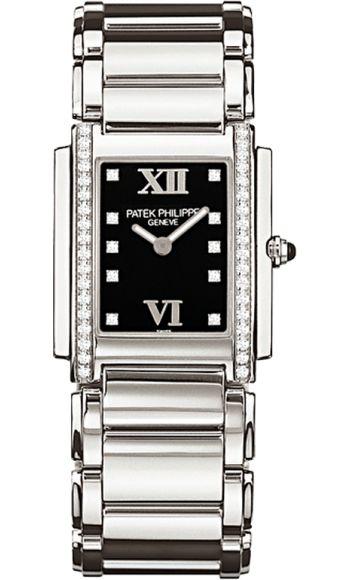 4910/10A-001 Patek Philippe Twenty 4 Womens Stainless Steel Watch | WatchesOnNet.com