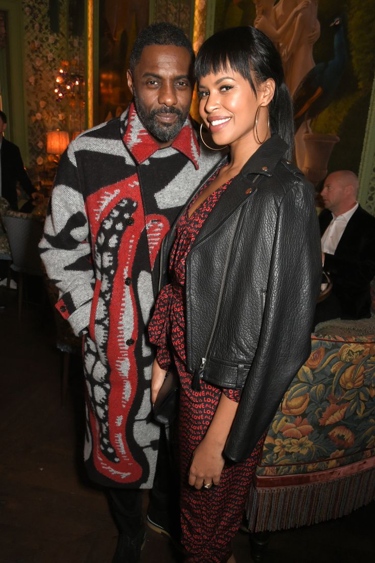 Idris Elba and Sabrina Dhowre | See Gabrielle Union, Diddy, Michael B. Jordan, Letitia Wright Cardi B, Danielle Brooks and other celebrity pics of the week.