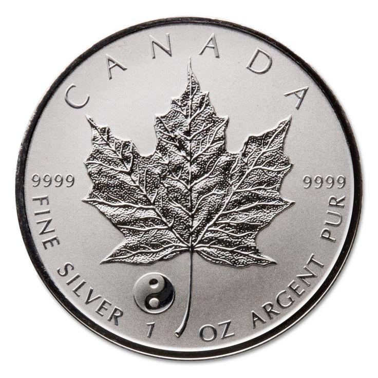 2016 Yin Yang 1 oz Privy Silver Maple Leaf