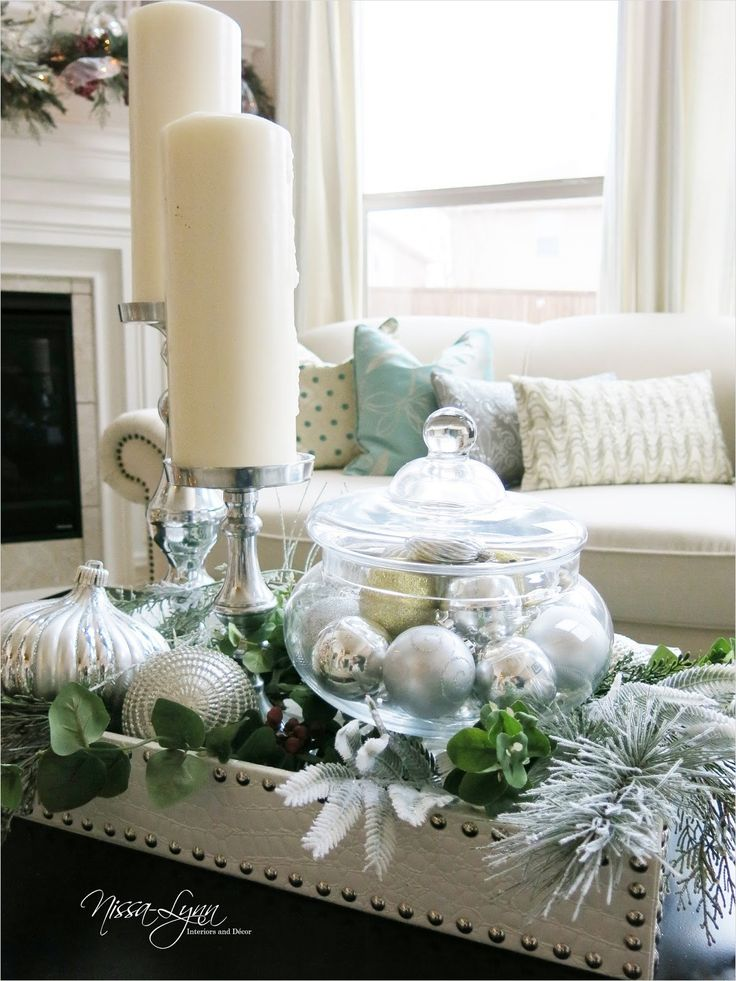 40 Best Coffee Table Christmas Decorations On a Budget