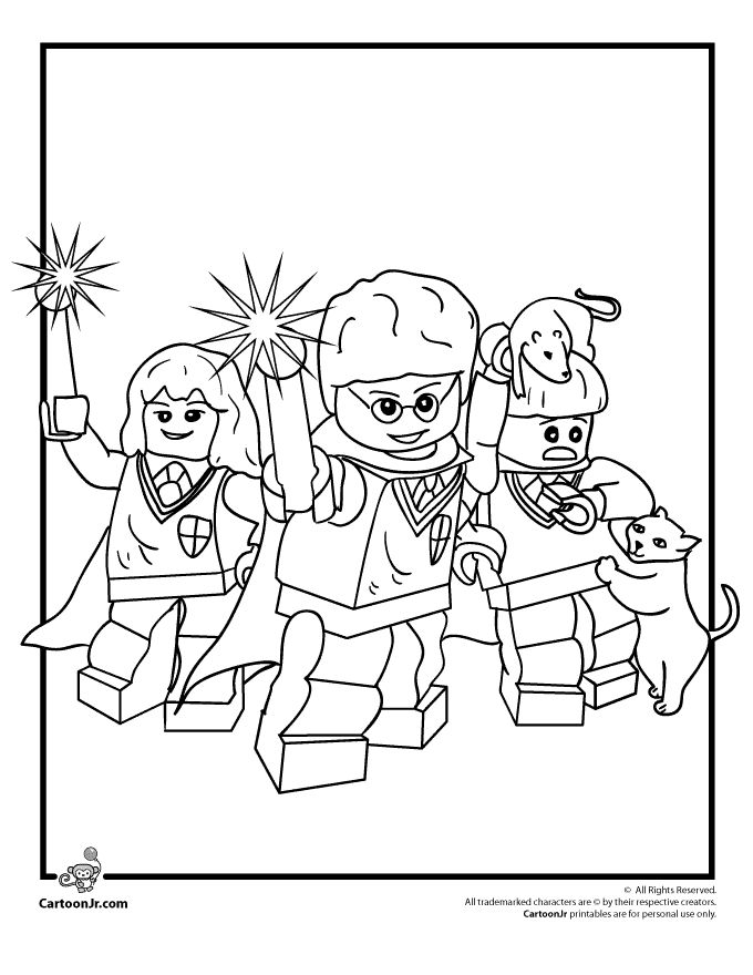 lego coloring pages for girls - photo #26