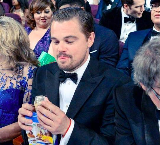 You have to see these Leo eating Girl Scout Cookies memes.