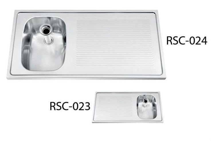 C3700 spoeltafelblad 1000 x 500mm 1xspoelbak 290x400x240mm/afdruip linksBar Line spoeltafelblad met 1 spoelbak - afdruip linksOpbouwOpstaande rand achteraan (20mm)Deze spoelbakken dienen voorzien te worden...