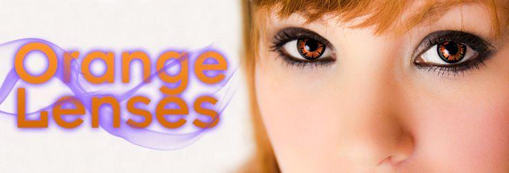 Orange Contact Lenses