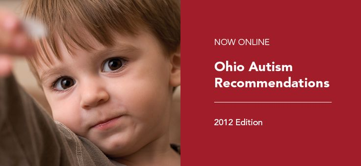 Ohio Autism Recommendations developed by Interagency Work Group on Autism