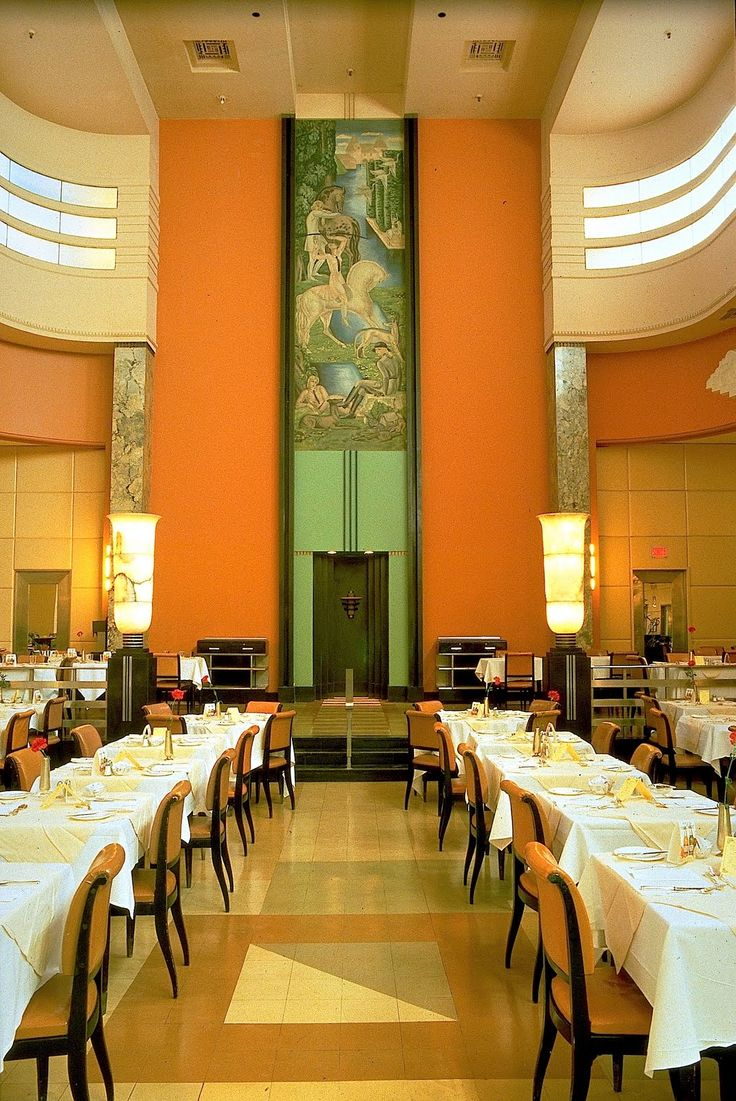 303 best art deco and a little nouveau images on pinterest for Deco restaurant