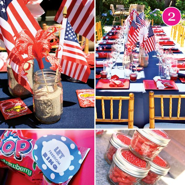 july 4th baby shower