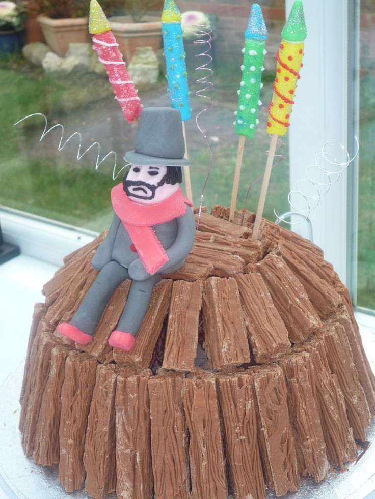 Guy Fawkes Night Cake Decorations