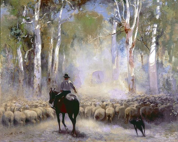 File:Walter Withers - The Drover, 1912