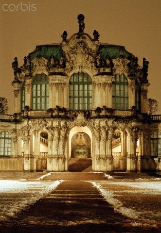 Rampart Pavilion, Zwinger Palace, Dresden, Germany