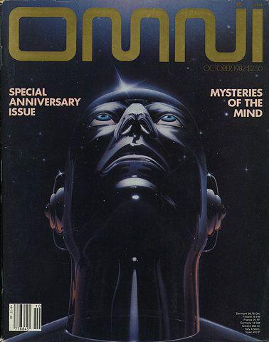 Omni Magazine Cover 1982: Omni Magazine Cover 1982: Magazines October, October 1982, 80S Retrofuturism, Retro Future, 80S Omni, Omni Magazines, Omnioct1982Jpg 315400, Magazines Covers, Omni Scifi