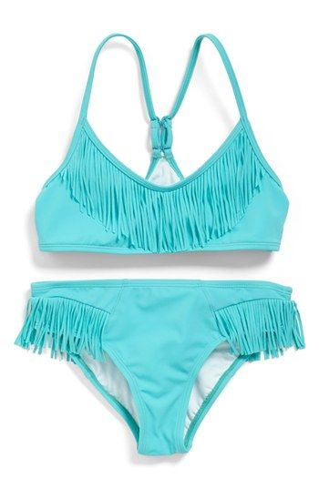 Billabong Fringe Bikini (Little Girls   Big Girls) available at  Nordstrom 00ffe0560bf