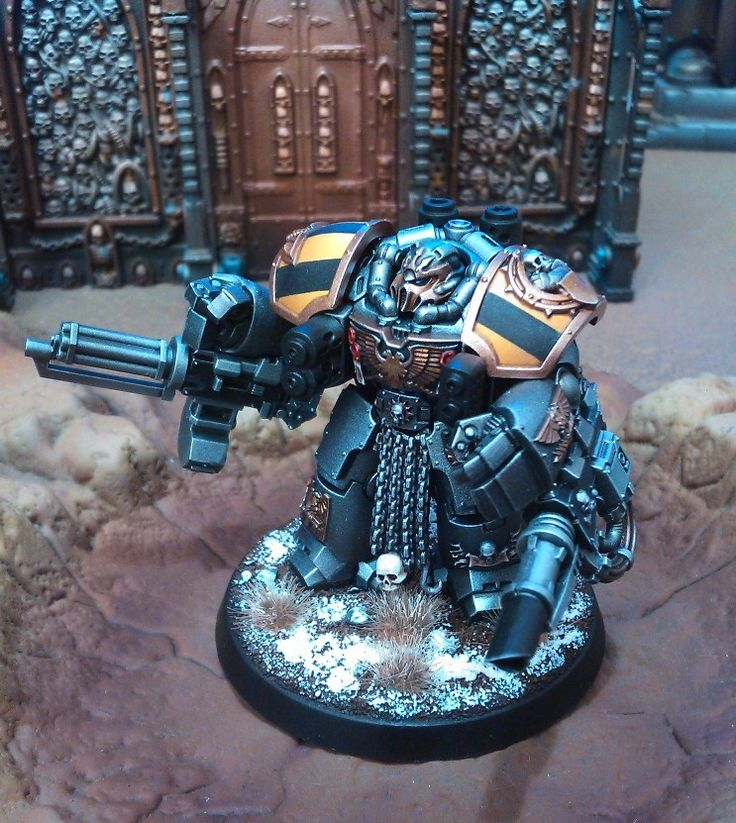 Forums / Peinture / Iron Within, Iron Without, mon armée Iron Warriors | News : raptors + tuto armure - Mini Créateurs