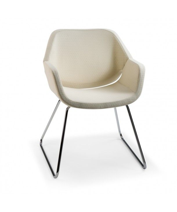 artifort gap sled armchair designed by khodi feiz