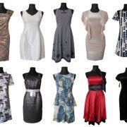 Modne sukienki suknie wieczorowe wizytowe, sukienka suknia STOCK