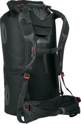 Whether you're carrying large amounts of gear through the airport, or deep into the backwoods, the Sea to Summit Hydraulic Dry Pack has you covered. Handy screen-printed diagrams show detailed steps for removing both the pins and the harness for easy on and off. Imported. Colors: Assorted. Available: 65 Liter, 120 Liter.