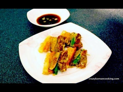 San Jeok Recipe, Korean Beef and Vegetable Skewers, 산적 - Crazy Korean Cooking  Shop Korean Ingredients at www.crazykoreanshopping.com  #koreaningredient #koreancooking #koreanfood