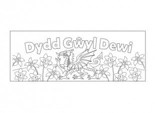 st david\'s day coloring pages | Your child can print these two sheets of A4, stick them ...