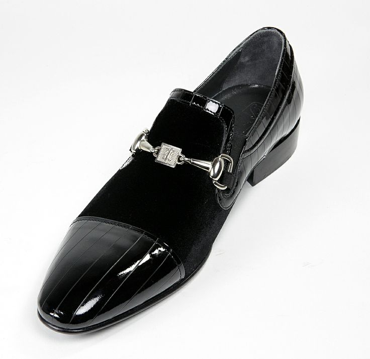 007 Rina's #Couture - #Men's #Velour & #Leather #Shoe  $395 or Make an Offer   http://www.rinastore.com/007-rinas-couture-shoes:-black/dp/5932  Rina's Boutique's own brand. Made in #Italy.