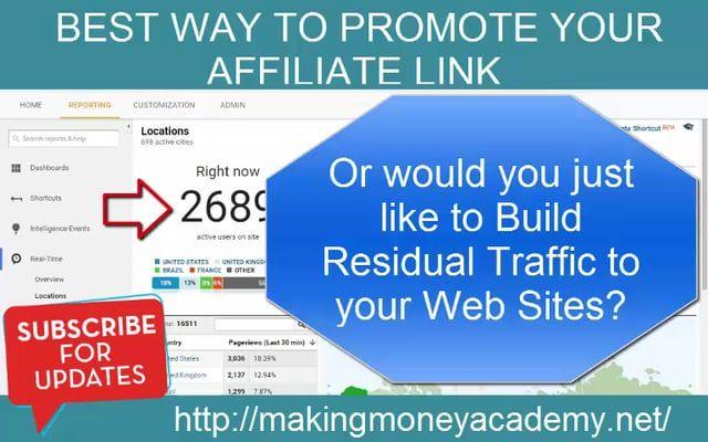 http://100perday.makingmoneyacademy.net/?id=murdock216@live.com.....How To Get Unlimited Website Traffic To Your Affiliate Link.   http://100perday.makingmoneyacademy.net/?id=murdock216@live.com https://youtu.be/dNFKaURvBhg http://www.dailymotion.com/video/x5yq987 http://makingmoneyacademy101.blogspot.ca/ https://youtu.be/OPzENtJpbD4 http://dai.ly/x5yqfgi https://youtu.be/UuSBpAZZnbE http://bit.ly/2vq6ocA