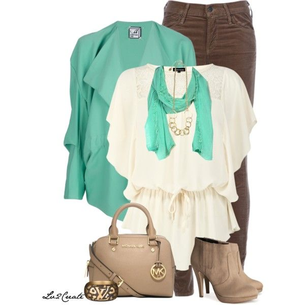 Mint Latte, created by lv2create on Polyvore