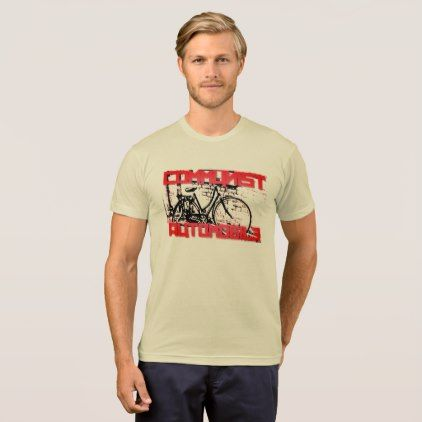 Communist Cars are SO Green Tee - unusual diy cyo customize special gift idea personalize