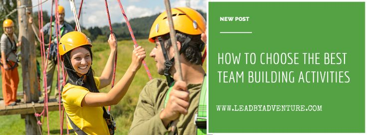 Choose the best team building activities for your team!