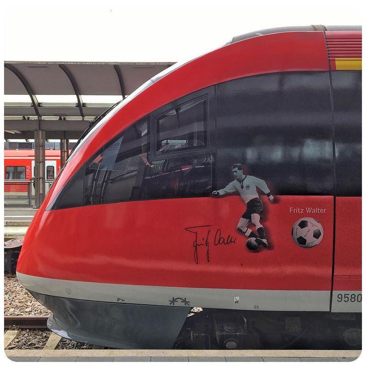 Lovely Onwards to Bad M nster with this Fritz Walter Regio Kaiserslautern Bahnhof FritzWalter