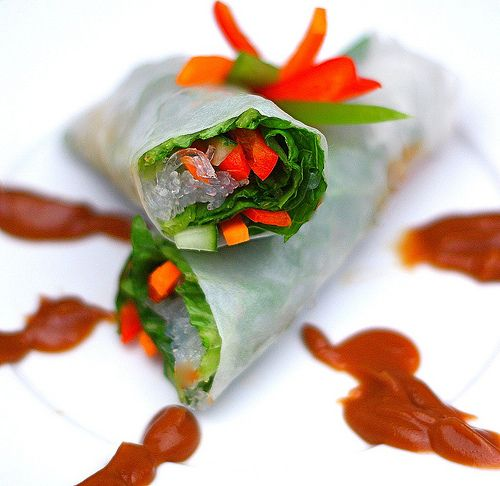 17 Best ideas about Vegetable Spring Rolls on Pinterest ...