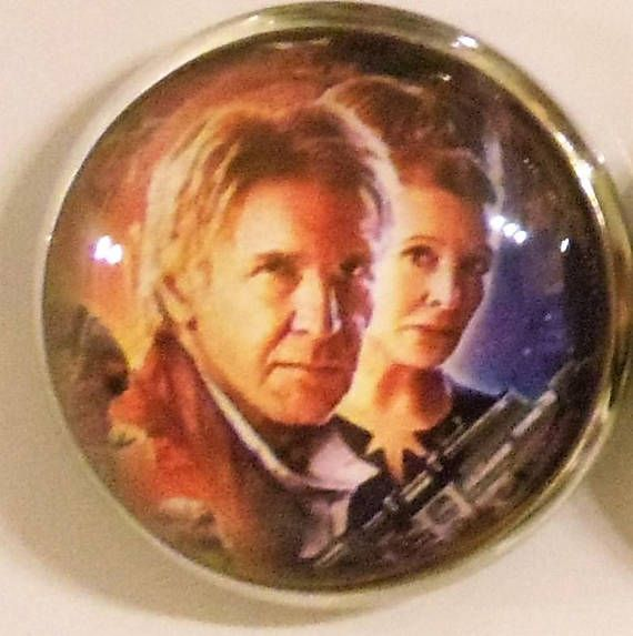 One Inch Refrigerator Magnets of The New Star Wars characters