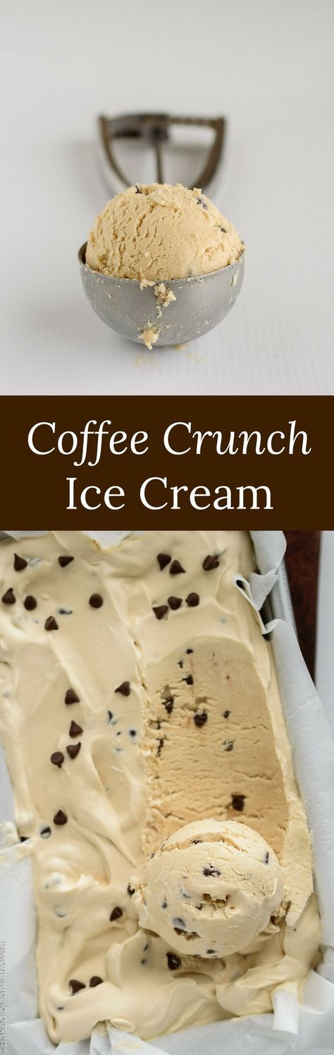 The smoothest ice cream made without an ice cream maker and only 4 ingredients! via @introvertbaker