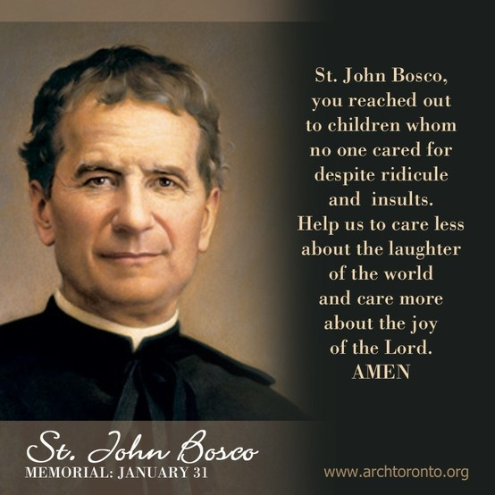 Prayer To St. John Bosco (Memorial: January 31)