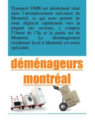 Beaucoup de gens se déplacent à Montréal cette année, ils aiment soit la ville puisque c'est un bel endroit à vivre ou peut-être qu'ils ont à déménager en raison de leur emploi, qu'il en soit déplacer se déplace et implique la même quantité de stress et de toute autre démarche de planification prend. Un bon compagnies de déménagement à montréal offrira également habituellement des services tels que l'emballage, le stockage et le déballage. Le meilleur moyen de découvrir si votre Montréal…