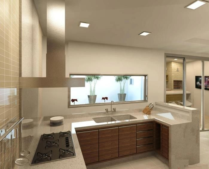 Construindo Minha Casa Clean: Cozinhas Modernas!!! Mais que Inspiradoras!